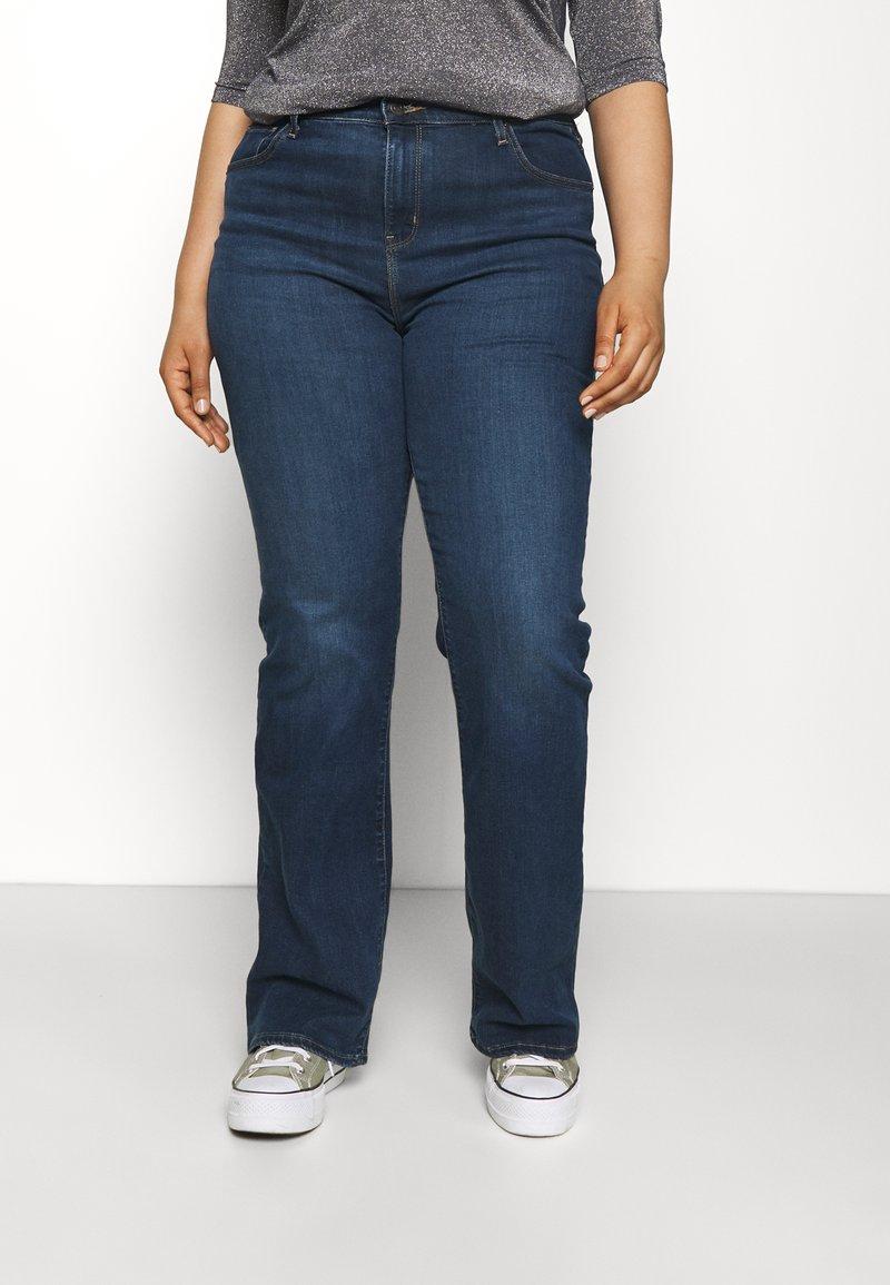 Levi's® Plus - 725 PL HR BOOTCUT - Straight leg jeans - bogota shake plus