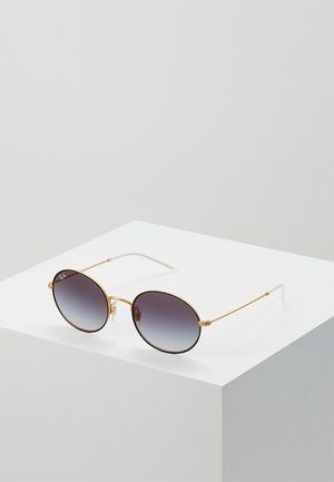 Lunettes de soleil - rubber gold-coloured on top black