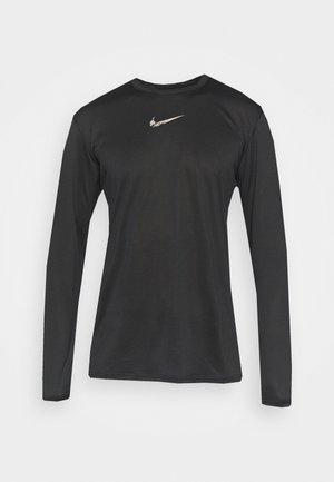 TEE - Bluzka z długim rękawem - black