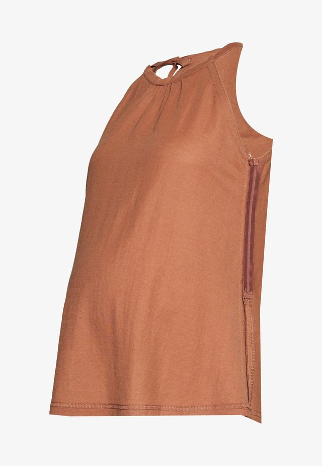 DEMELZA - Blouse - terracotta