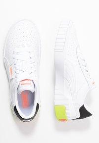 Puma - CALI - Sneakers basse - white/peach - 3