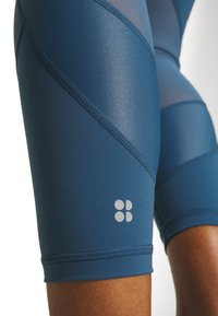 Sweaty Betty - POWER SCULPT WORKOUT LEGGINGS - Legging - stellar blue - 4