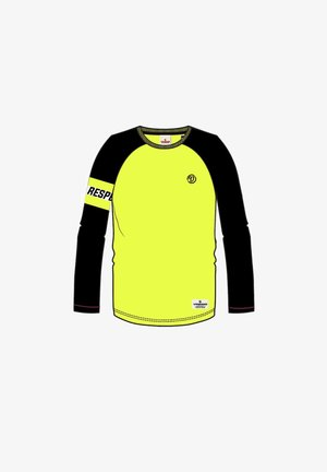 HAPTAIN - Long sleeved top - neon yellow