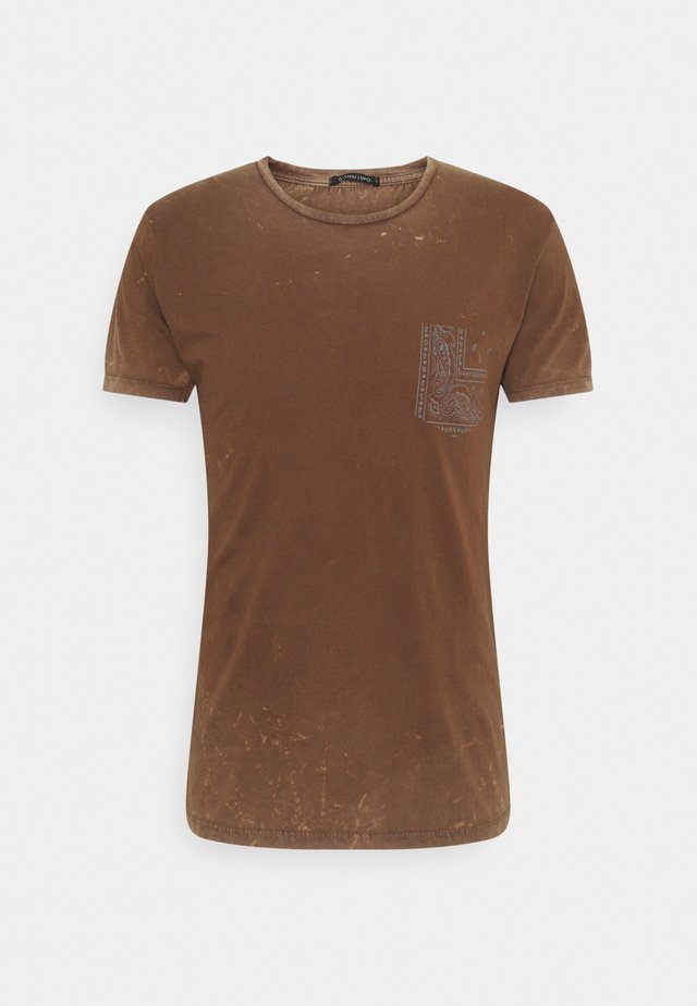 T-shirts med print - camel