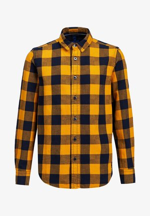 FLANELLEN - Shirt - yellow