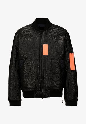 Bomber Jacket - black/infrared