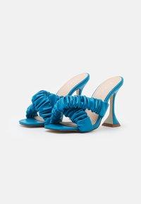 BEBO - LYANNA - Heeled mules - blue - 2