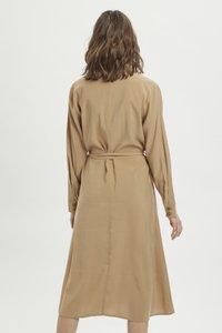 My Essential Wardrobe - Shirt dress - indian tan - 2