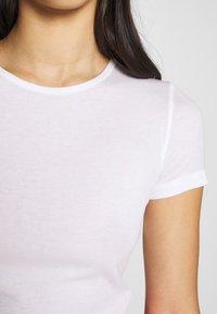 Weekday - TERESA - T-shirts - white - 4