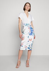 Ted Baker - NERRIS - Pouzdrové šaty - white - 1