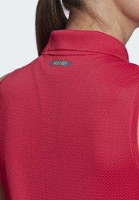 adidas Performance - TENNIS MATCH TANK TOP HEAT RDY - Polo shirt - pink - 6