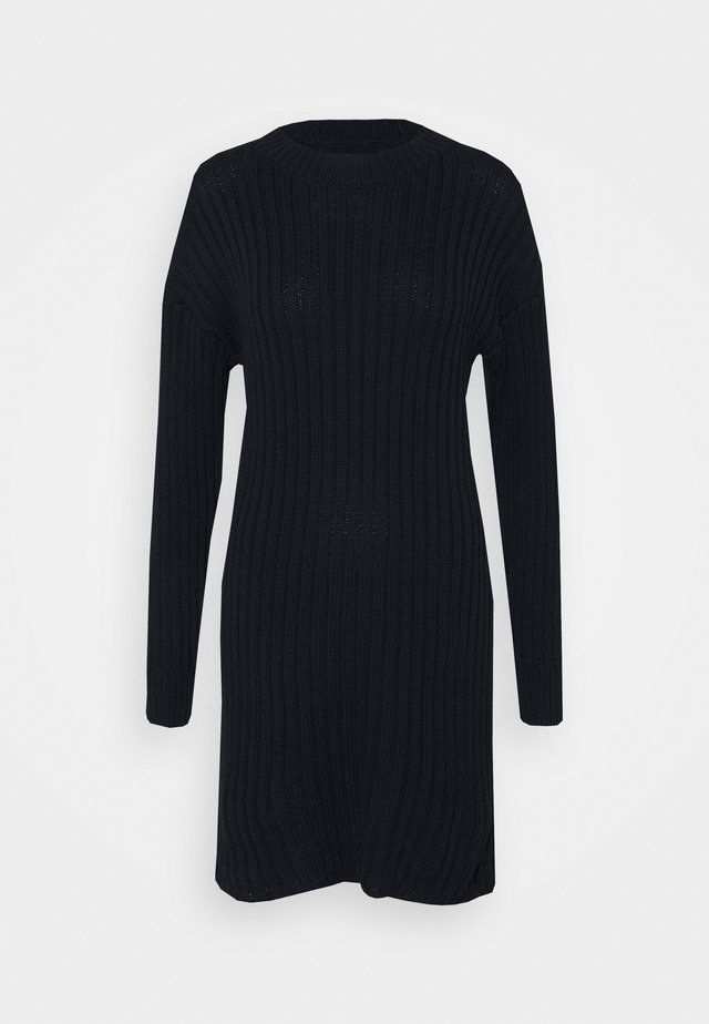 JUMPER DRESS - Jumper dress - navy