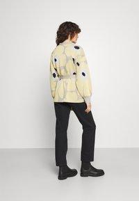 Marimekko - UNEKSUVA UNIKKO CARDIGAN - Cardigan - beige/light yellow/black - 2