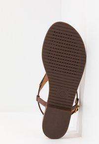 Geox - SOZY PLUS - T-bar sandals - cognac - 6