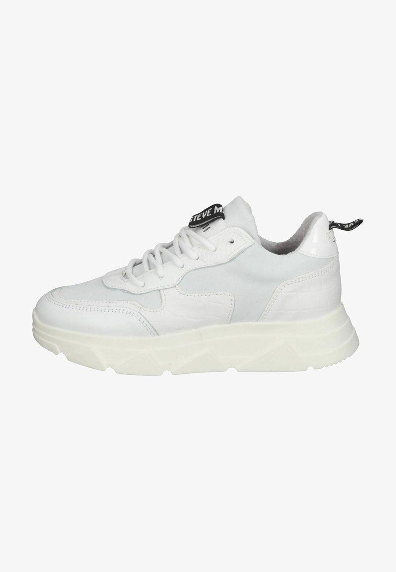 Steve Madden - Sneakers laag - white/white
