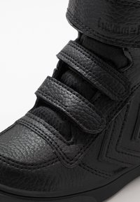 Hummel - STADIL SUPER TUMBLED  - High-top trainers - black - 2