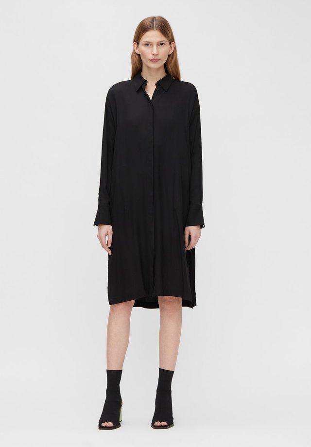 GEORGIA - Shirt dress - black