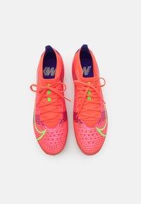 Nike Performance - MERCURIAL VAPOR 14 PRO AG - Moulded stud football boots - bright crimson/metallic silver - 3