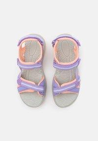 TrollKids - GIRLS PREIKESTOLEN - Walking sandals - lavender/apricot - 3