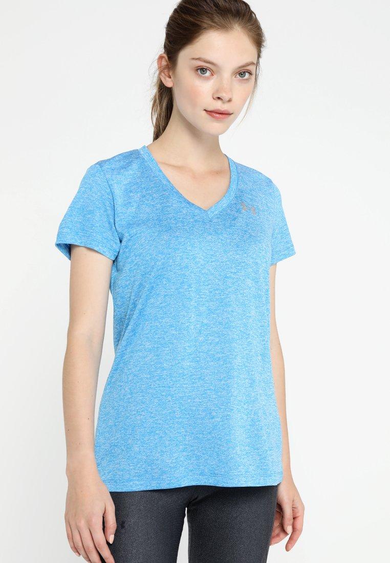 Under Armour - TECH TWIST - Camiseta de deporte - blue circuit / metallic silver