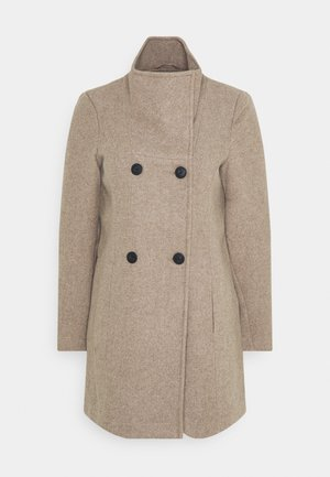 VMCLASSLINE - Płaszcz wełniany /Płaszcz klasyczny - sepia tint