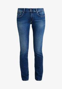Pepe Jeans - HOLLY - Džíny Straight Fit - stone blue denim - 4