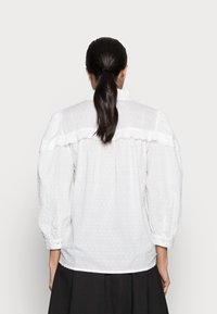 Kaffe - JOANNA BLOUSE - Button-down blouse - chalk - 2