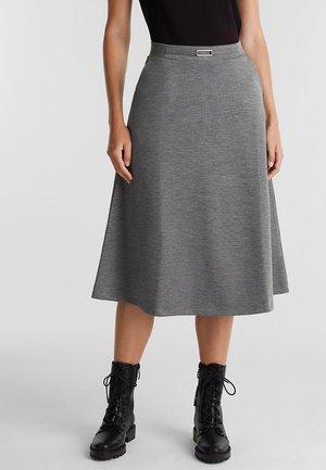 FASHION - A-snit nederdel/ A-formede nederdele - gunmetal