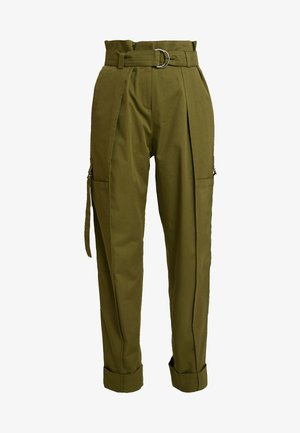 CARGO PANTS - Cargo trousers - olive