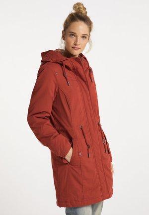 Winter coat - ziegelrot