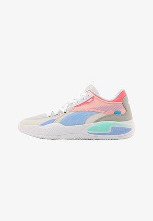 COURT RIDER TWO FOLD - Basketball shoes - nimbus cloud-elektro purple