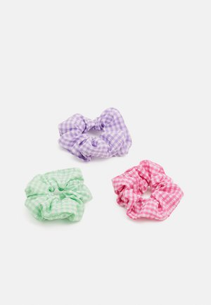 PCANYA NORMAL SCRUNCHIE 3 PACK - Hair styling accessory - ambrosia/apink/obloo