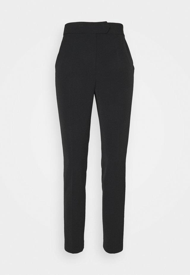 KRISTEN CADY ELASTIC PANT - Pantalon classique - black