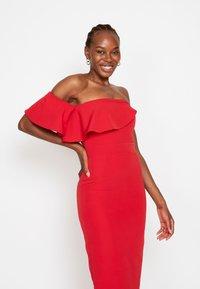 True Violet - FRILL - Shift dress - red - 3