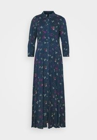 YAS - YASSAVANNA FLOWER LONG DRESS - Maxi dress - ensign blue - 5