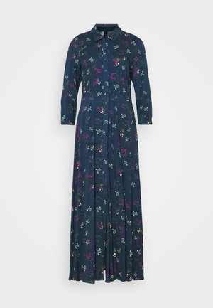 YASSAVANNA FLOWER LONG DRESS - Maxikjoler - ensign blue
