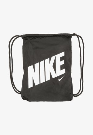 UNISEX - Drawstring sports bag - black/black/hyper crimson