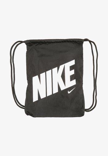 UNISEX - Drawstring sports bag - black/black/hyper crimson
