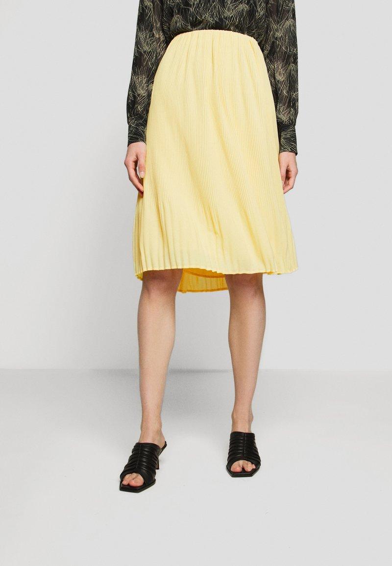 Bruuns Bazaar - CECILIE SKIRT - Áčková sukně - sunshine