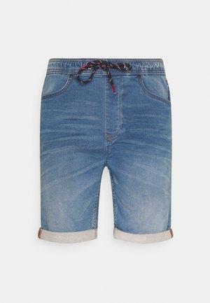 JOGG SHORTS - Denim shorts - denim middle blue