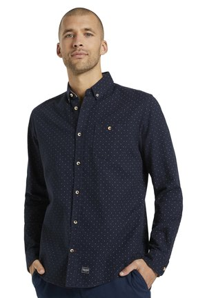Chemise - navy base scattered design