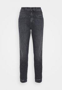 PEDAL PUSHER - Straight leg jeans - dark grey