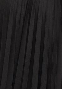 Dorothy Perkins Curve - CURVE PLEAT MIDI SKIRT - A-line skirt - black - 4