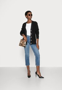 Selected Femme - SLFEMMY  BUTTONCARDIGAN  NOOS - Cardigan - black - 1
