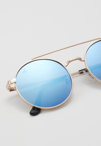 Jeepers Peepers - Sunglasses - gold-coloured/blue flash lens - 2
