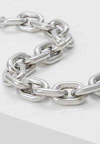 ERASE - CHUNKY LINK - Náhrdelník - silver-coloured - 4