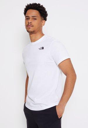 REDBOX CELEBRATION TEE - T-shirt con stampa - white/black