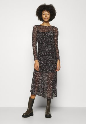 Cocktail dress / Party dress - black/pink