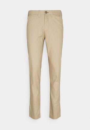 SLHSLIM MILES PANTS - Chino - cornstalk