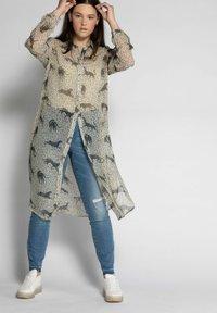 Studio Untold - Button-down blouse - zand-beige - 0